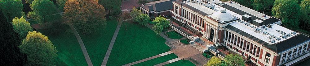 aerial photo of MU quad
