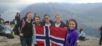 photo of students abroad